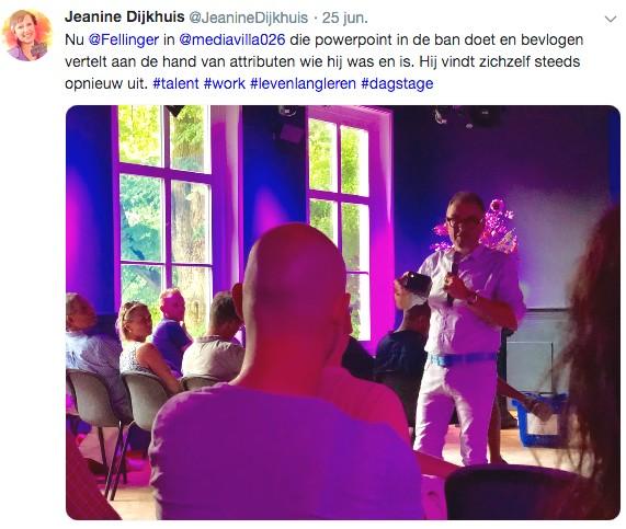 Fellinger bij Media Villa Arnhem