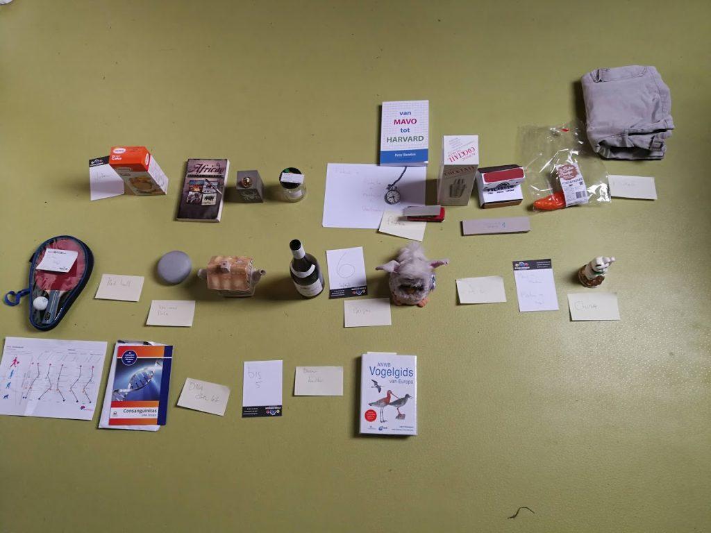 Met objecten presenteren ipv met powerpoint